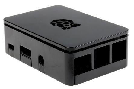 Raspberry Pi case B3 & B3+ zwart