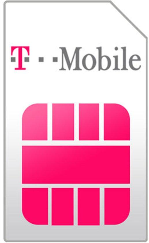 T-Mobile Prepaid Simkaartpakket