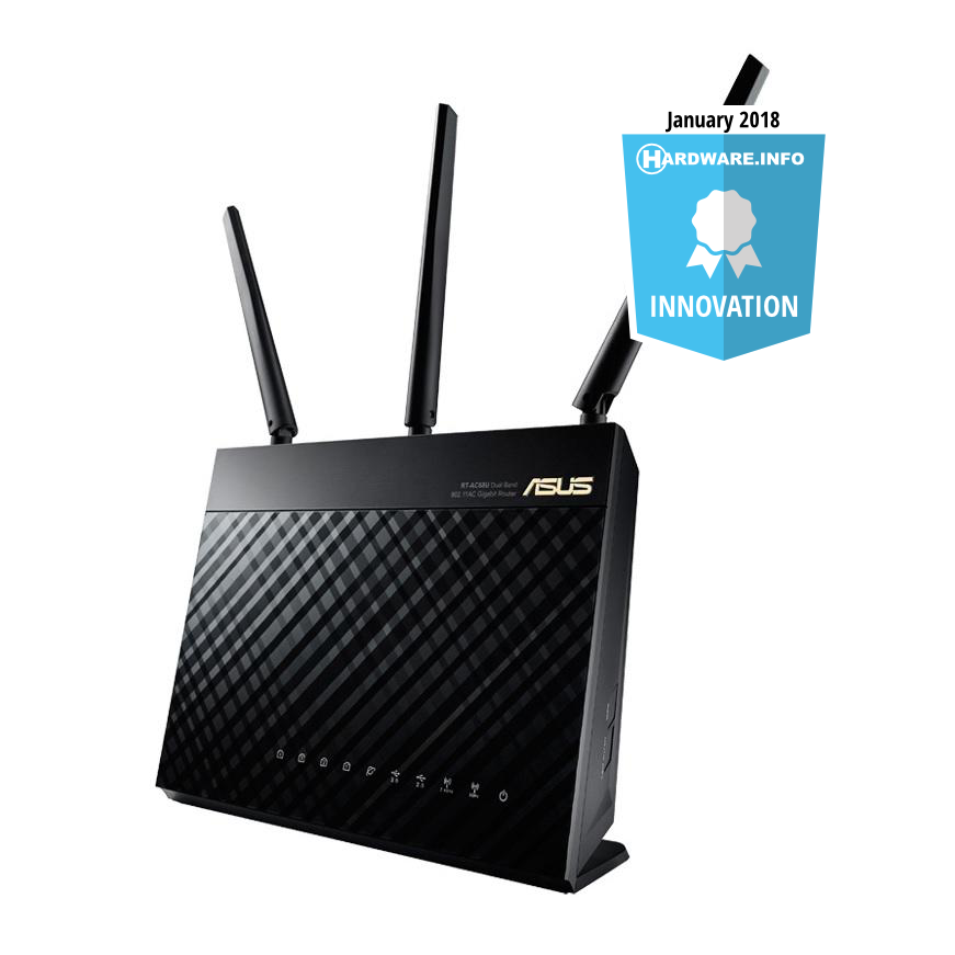 RT-AC68U dualband-router, 1900Mbps