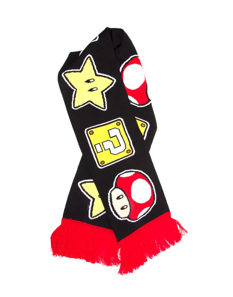 Difuzed Mushroom en Star sjaal