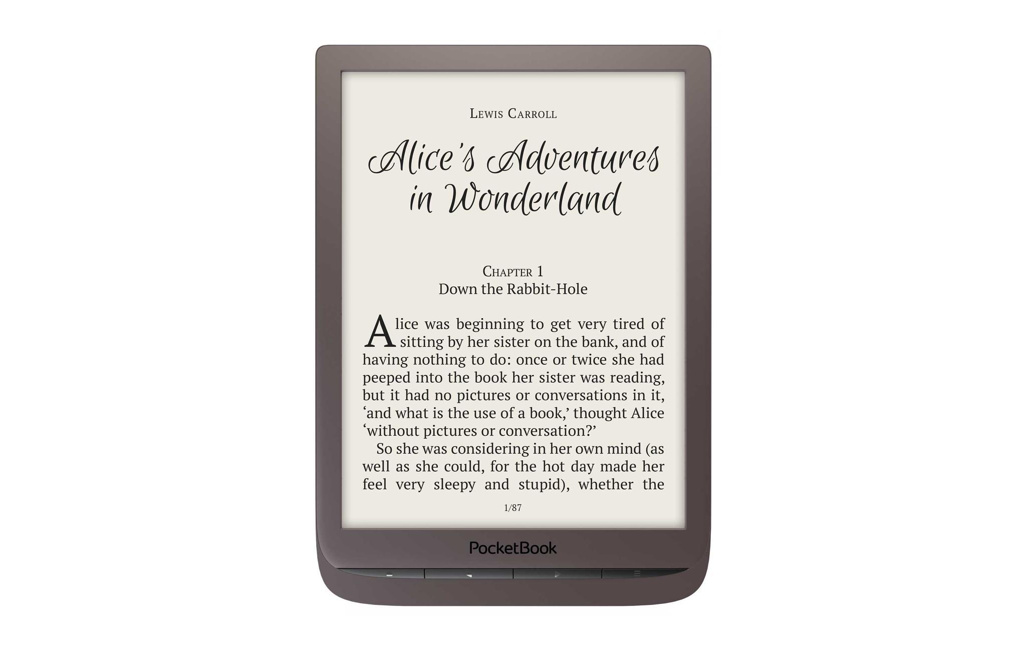 PocketBook InkPad 3 e-Reader bruin