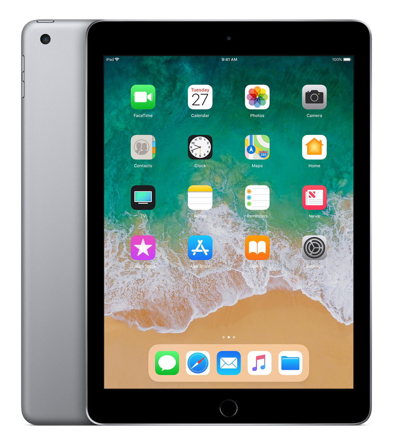 Apple iPad 128GB (2018) grijs
