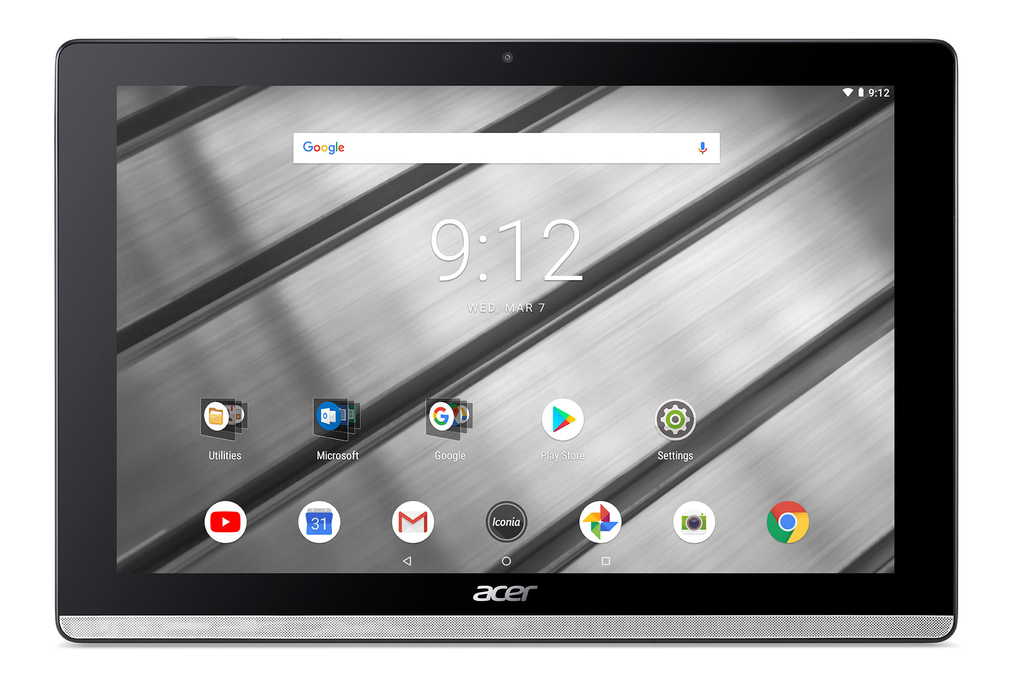 Acer Iconia One 10 B3-A50-K7BY zilver