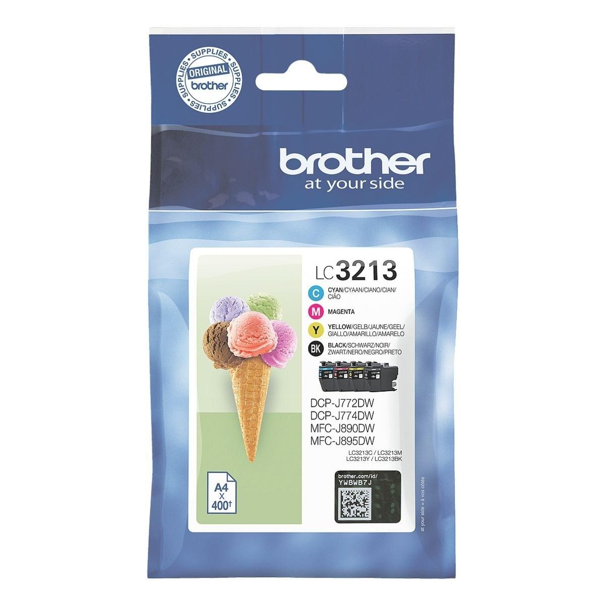 Brother LC-3213VALDR value pack