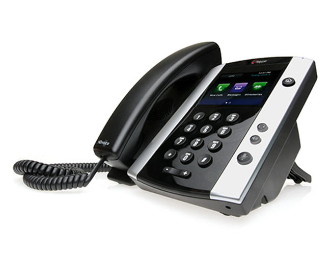 Polycom VVX 501 Business media telefoon
