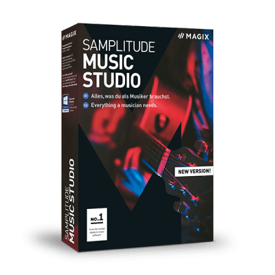 Magix Samplitude Music Studio 2019
