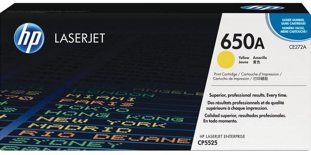 HP 650A geel