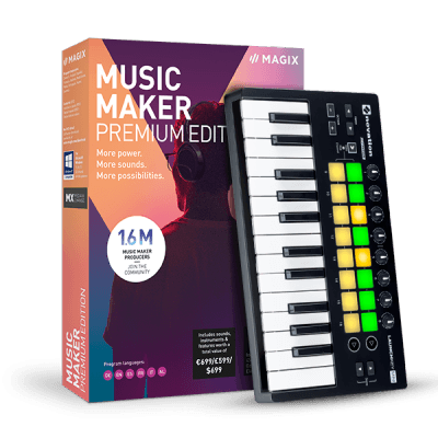 Magix Music Maker Preformer 2019