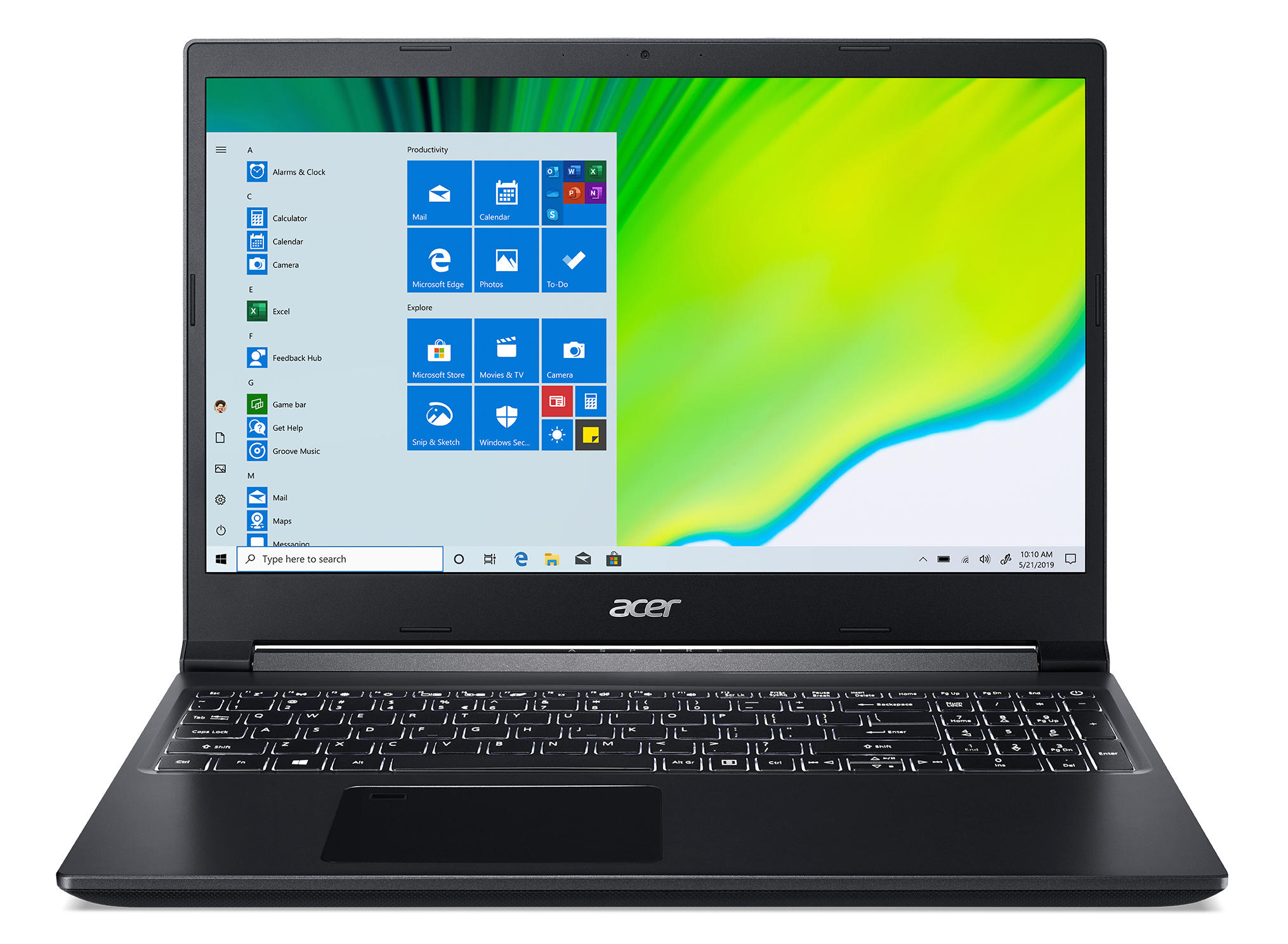 Acer Aspire 7 A715-75G-70NY laptop