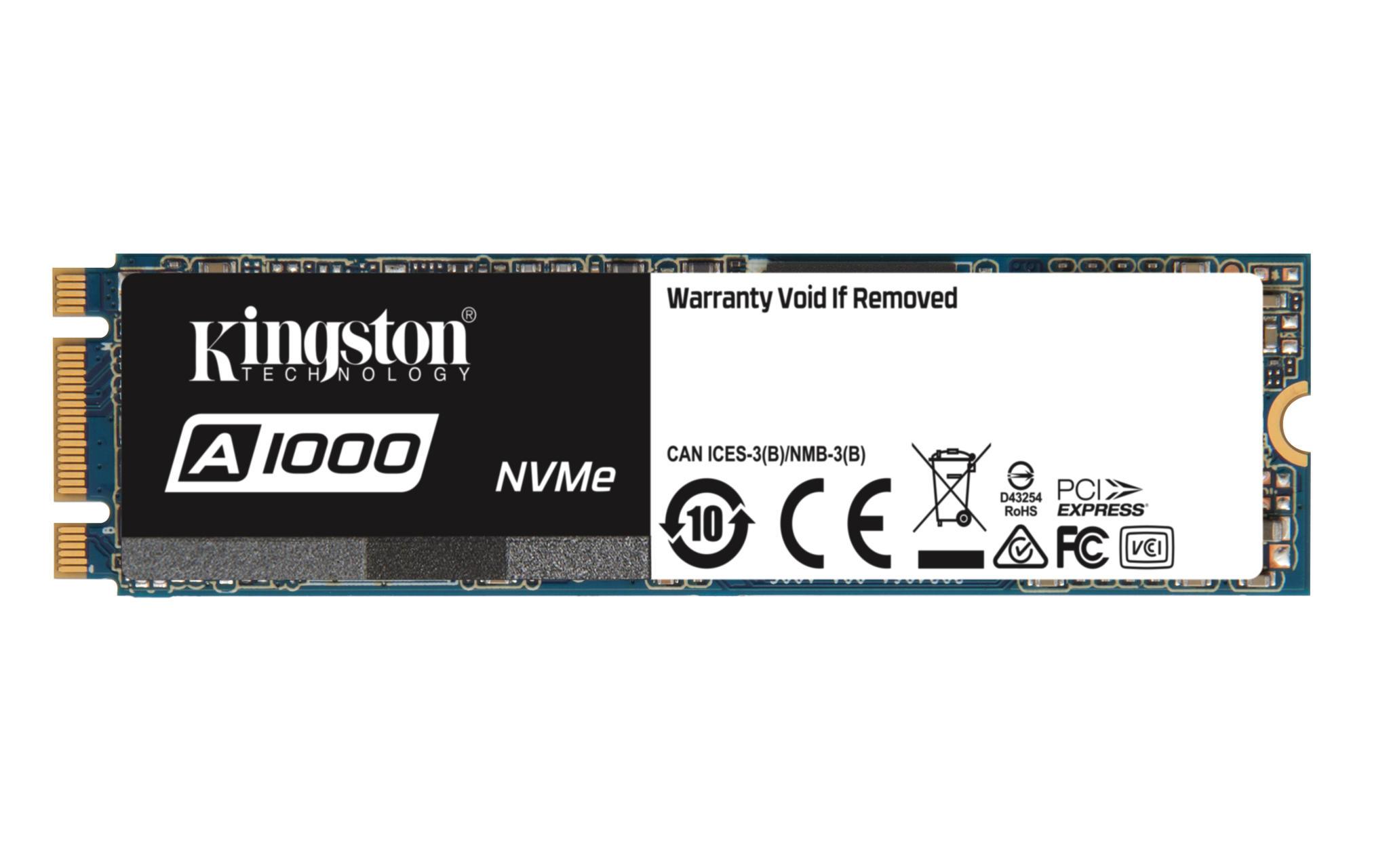 Kingston A1000 NVMe 480GB SSD