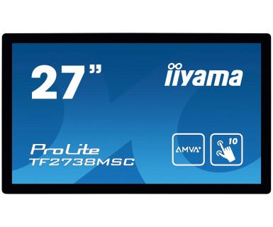 iiyama ProLite TF2738MSC-B1 27 1920 x 1080Pixels Multi-touch touch screen-monitor