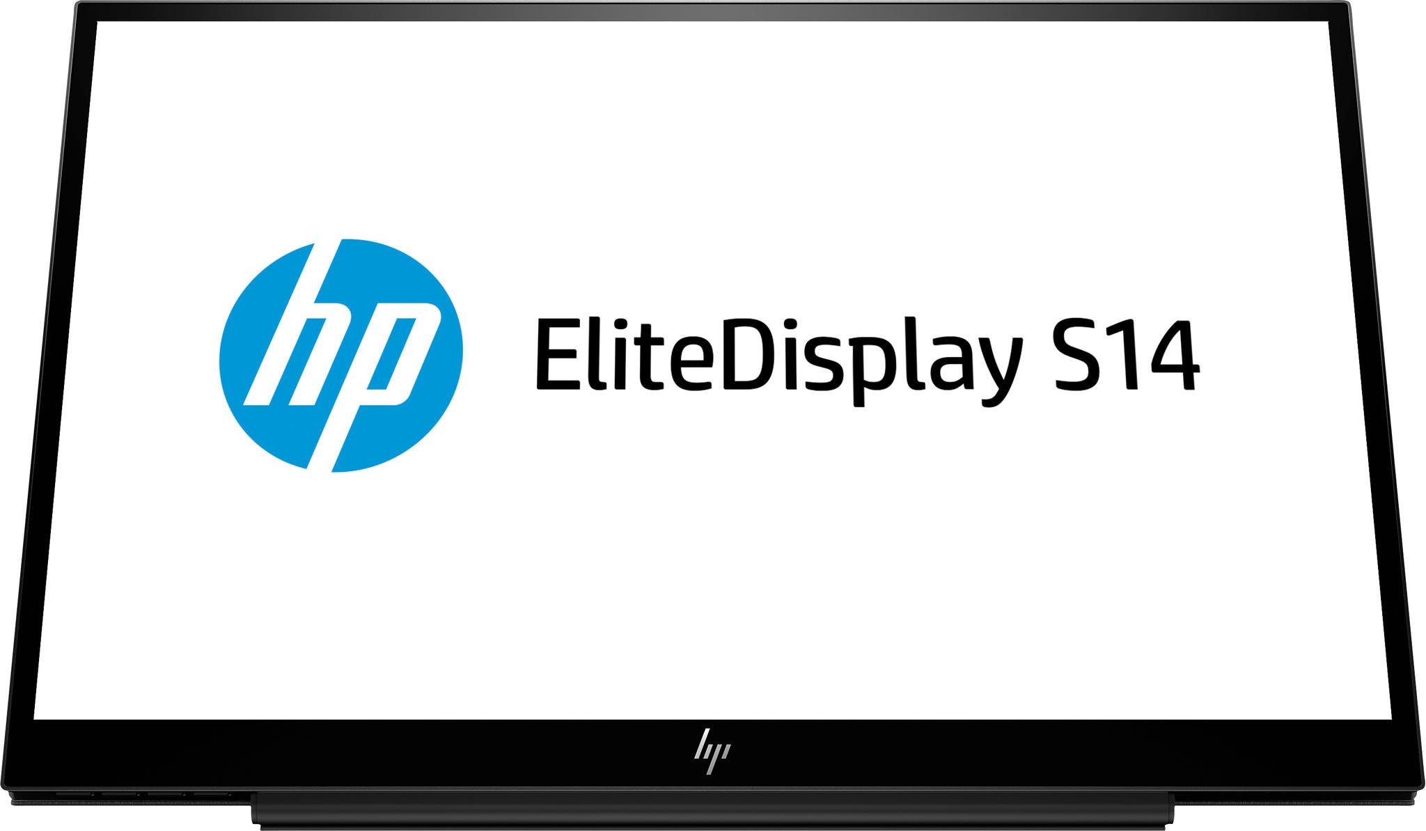 HP EliteDisplay S14 monitor