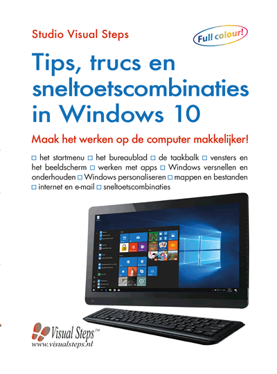 Visual Steps Tips, trucs en sneltoetsen W10