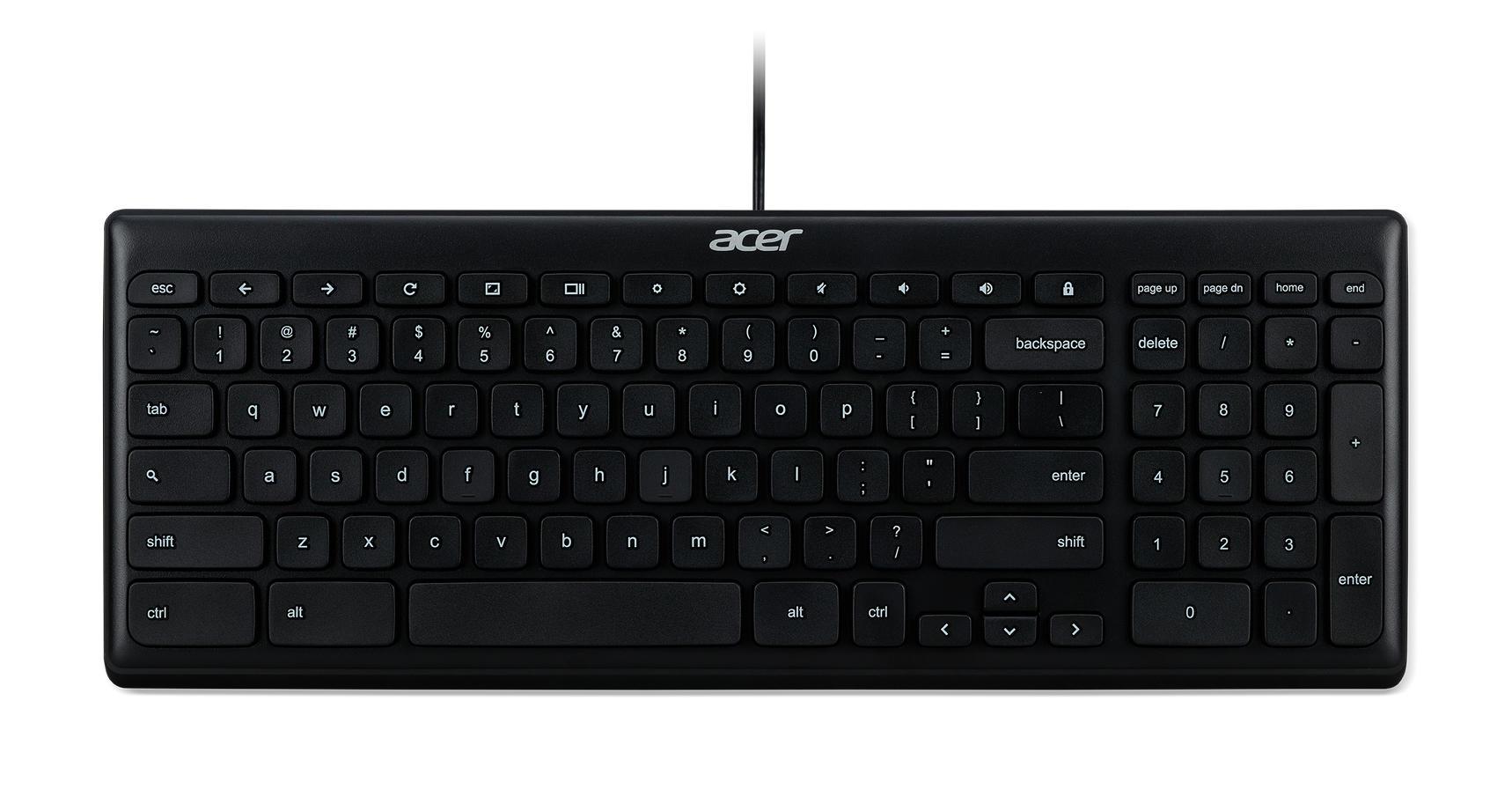 Acer AKB910 Chrome toetsenbord