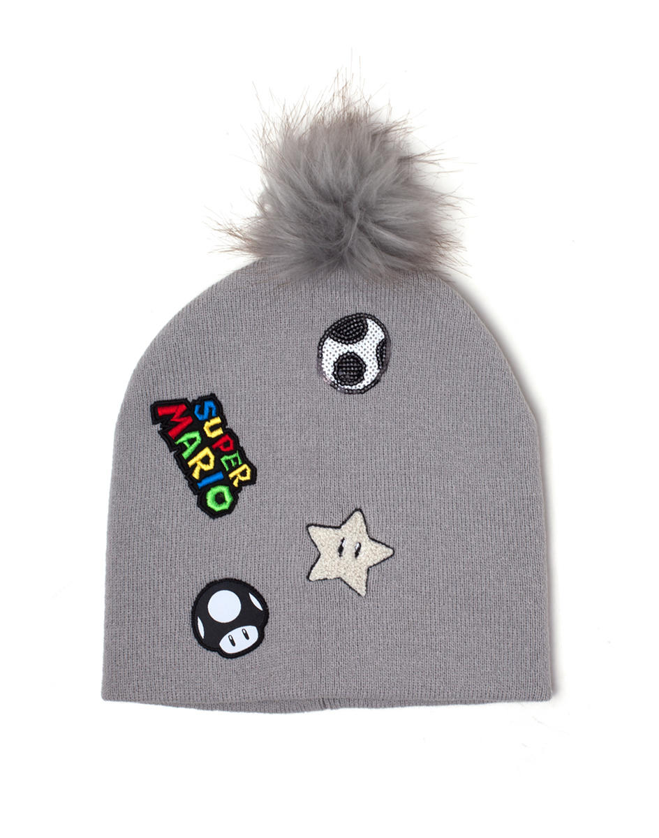 Difuzed Super Mario Patches beanie