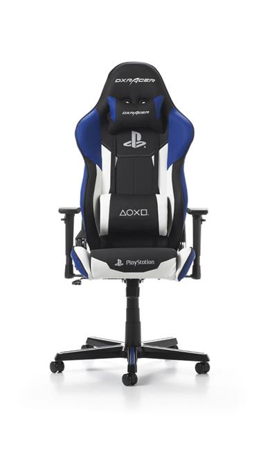 DXRacer Racing Playstation gamestoel wit
