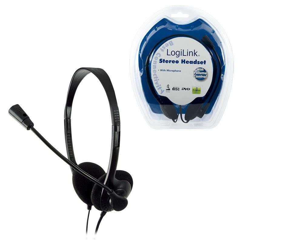LogiLink Stereo koptelefoon