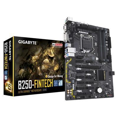 Gigabyte GA-B250-FINTECH mining