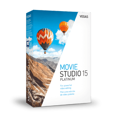 Magix VEGAS Movie Studio 15 Platinum