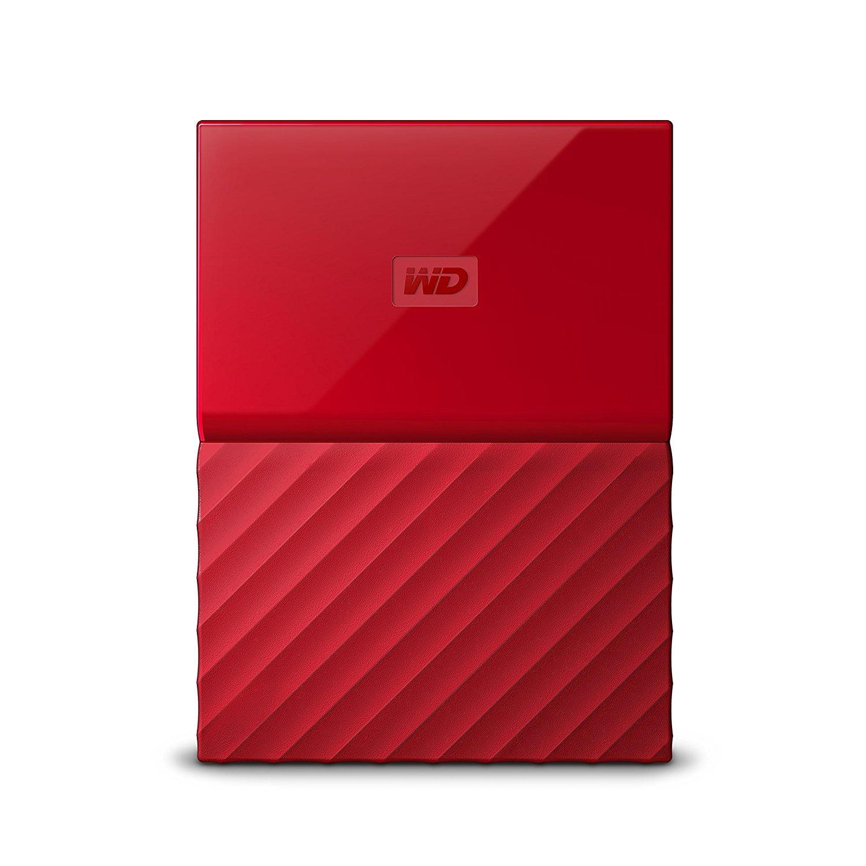 WD My Passport 2TB rood