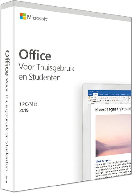 Microsoft Office 2019 Thuis en Studenten