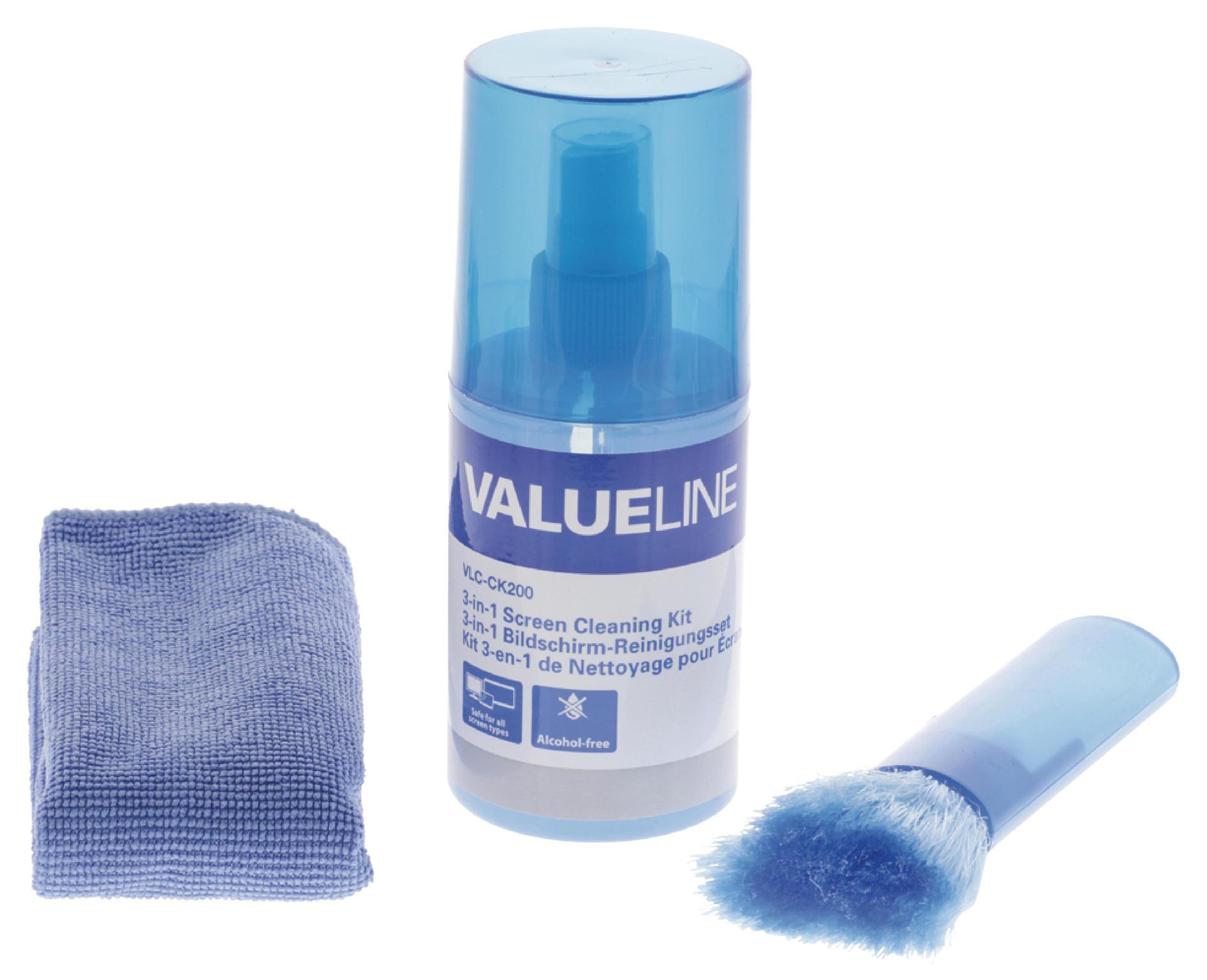 Valueline Schermreiniger set 200 ml