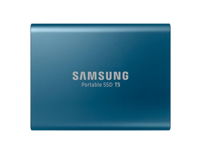 Samsung SSD T5 500GB blauw