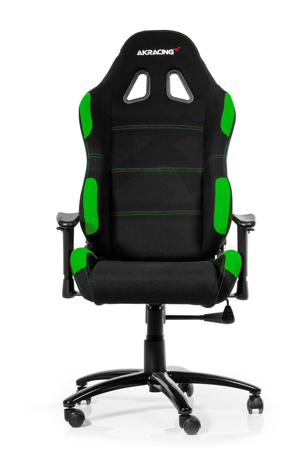Gaming stoel AKRACING Gaming Chair zwart-groen