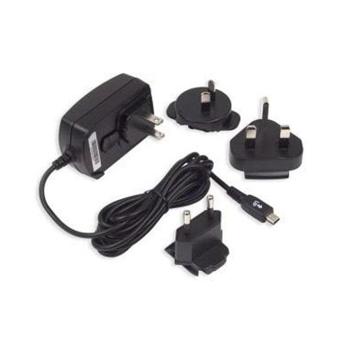 BlackBerry Mini-USB Reis oplader met EU-UK en USA adapter