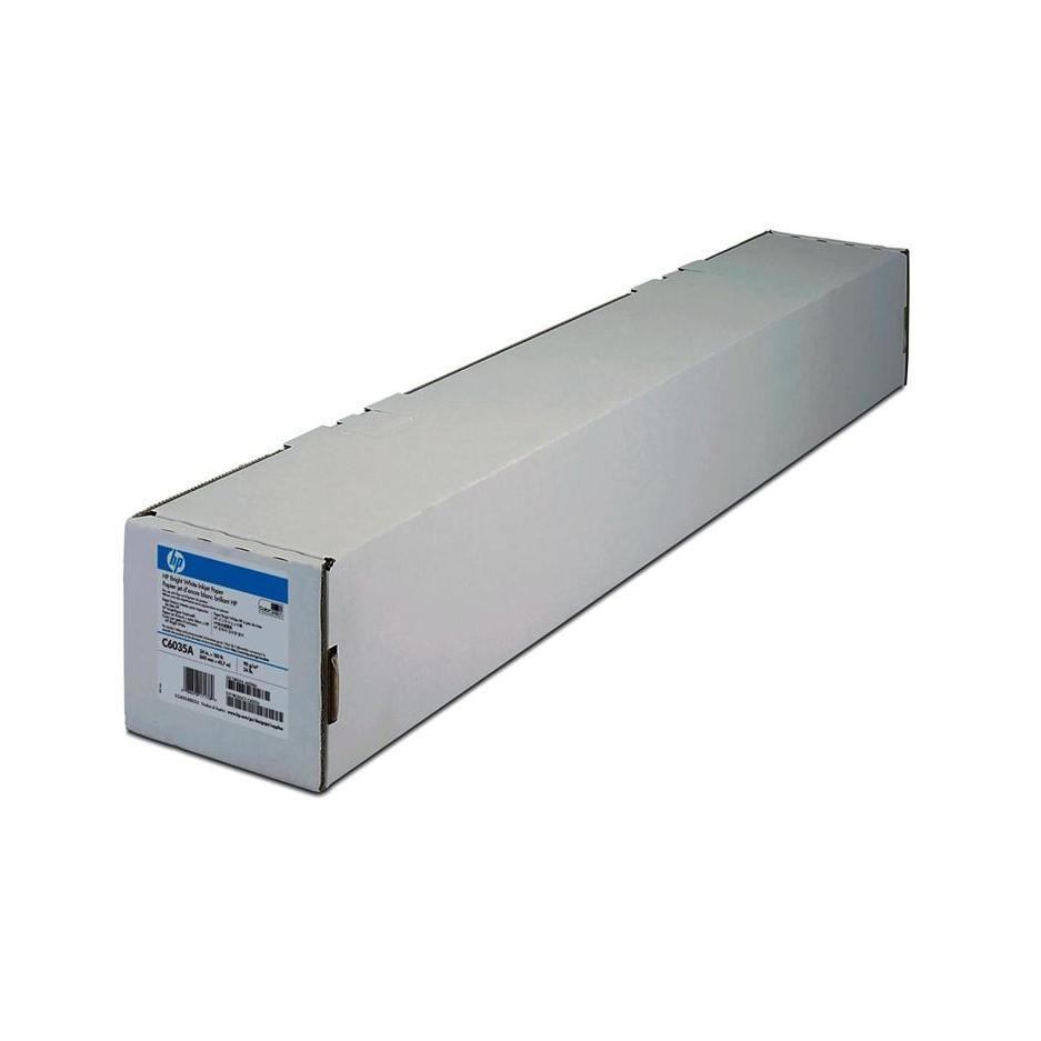 Bright White Inkjet papier, 594 mm x 45,7 m