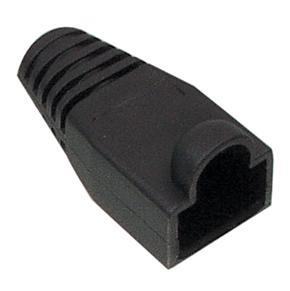 RJ45 knikbescherming zwart