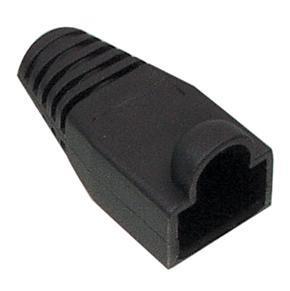 zwarte UTP connector huls