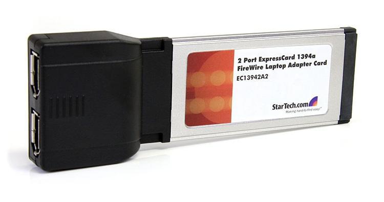 StarTech 2-poorts Firewire expressCard