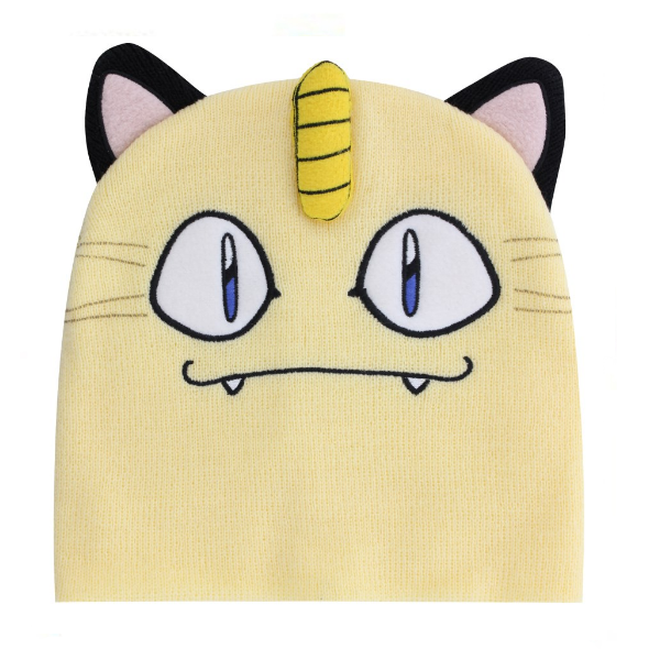 Image of Bioworld Pokemon Meowth beanie