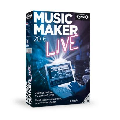 Image of Magix Music Maker 2016 Live