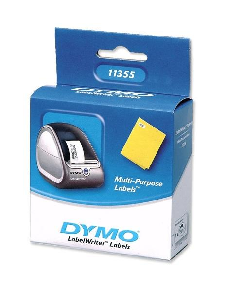 Dymo verwijderbare multifunctional label 19x51mm