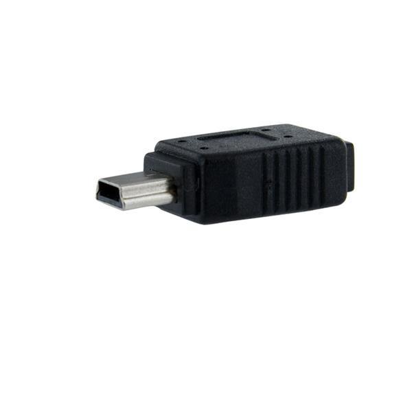 StarTech.com Micro USB naar Mini USB Adapter F-M