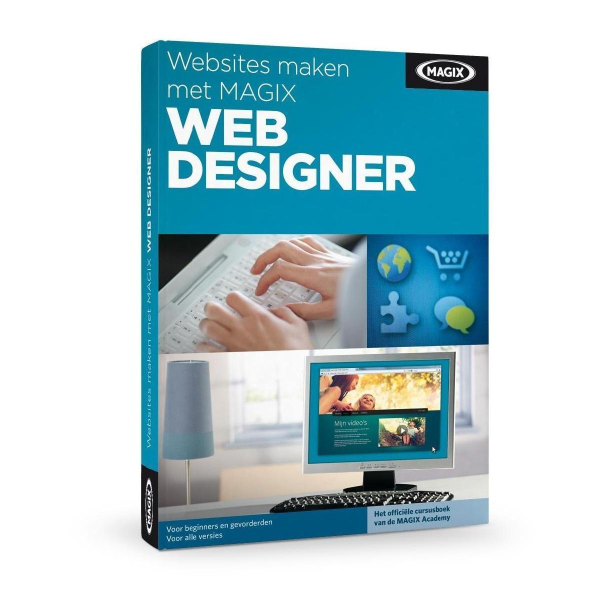 Image of Websites maken met Magix Web Designer Cursusboek