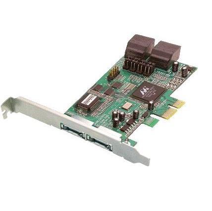 Image of Dawicontrol DC-324e 4x SATAII PCI-E Raid Controller - bulk