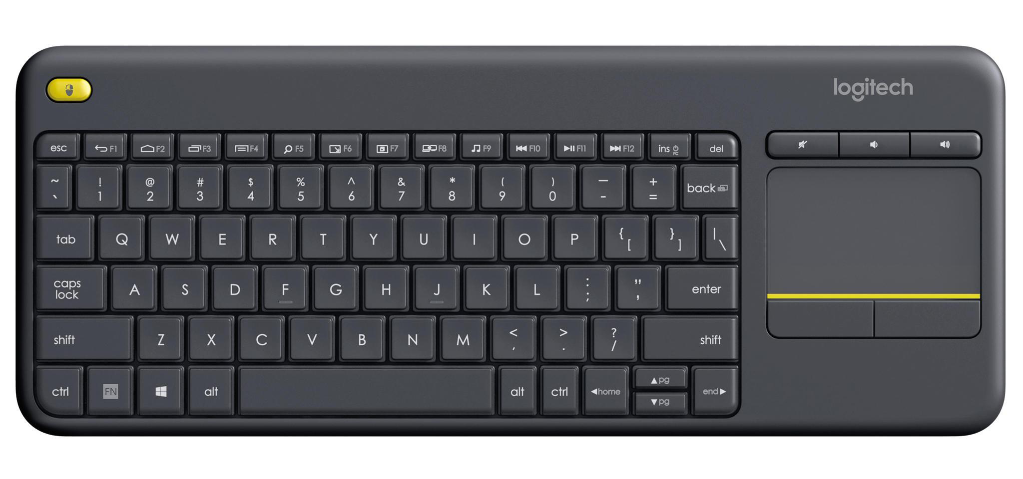 Op Hardware4Me is alles over bediening te vinden: waaronder yorcom en specifiek Logitech K400 Plus zwart