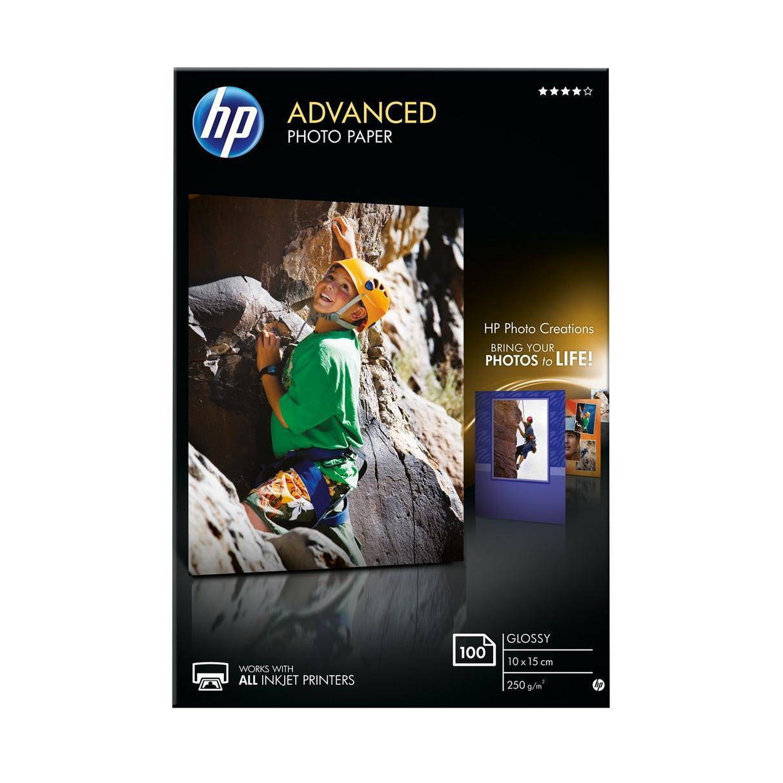 HP lazend fotopapier 10x15