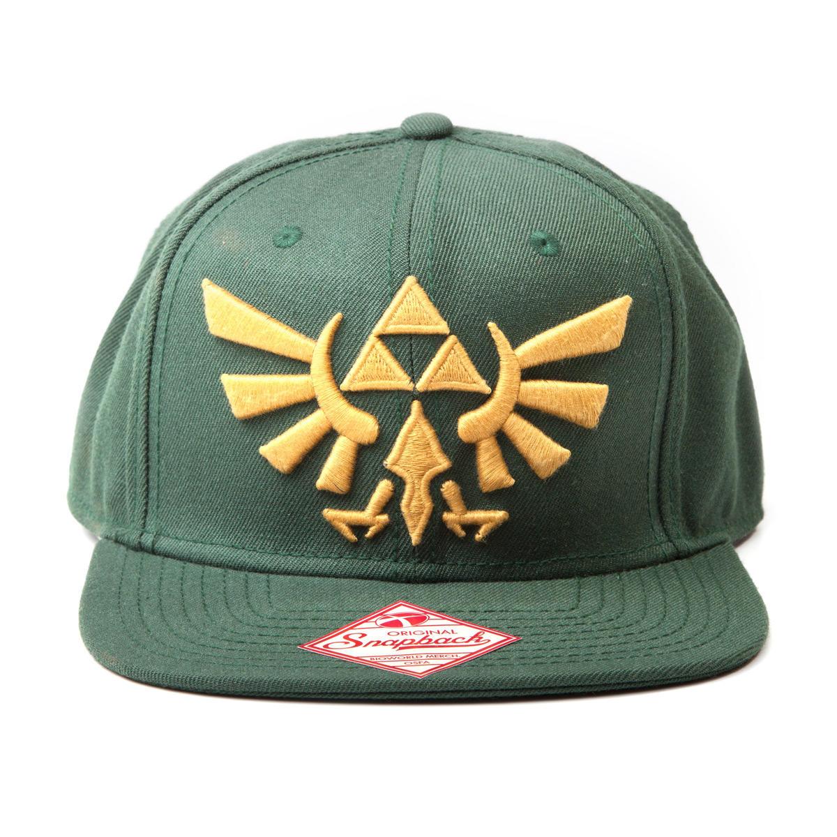 Difuzed Zelda Triforce Gold logo snapback