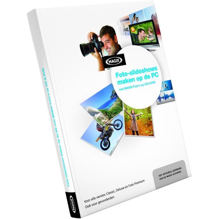 Image of MAGIX FOTO'S OP DVD DELUXE (SLIDESHOW) CURSUS BOEK