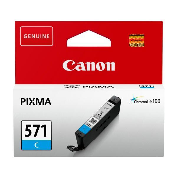 Canon CLI-571C cyaan