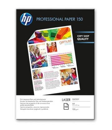 HP Glossy Laser fotopapier A4, 150 vel, 150gr