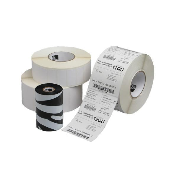 Zebra 4800 Resin Thermal Ribbon 40x450mm 1x