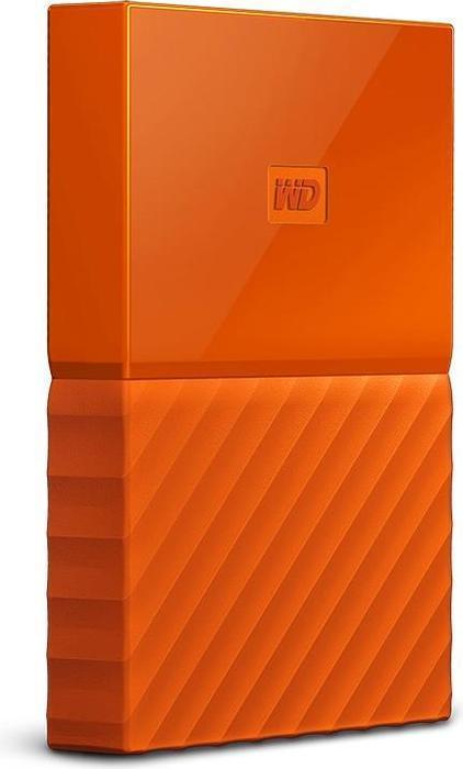 WD My Passport 4TB oranje