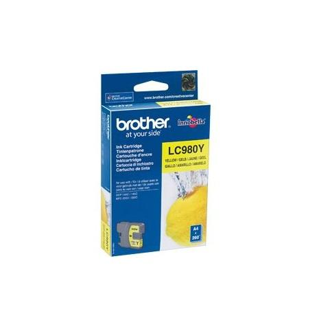 Image of Brother Cartridge Amarillo Lc980Y